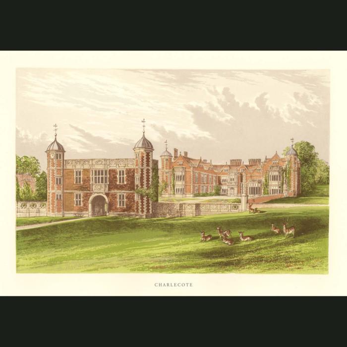 Fine art print for sale. Charlecote Park