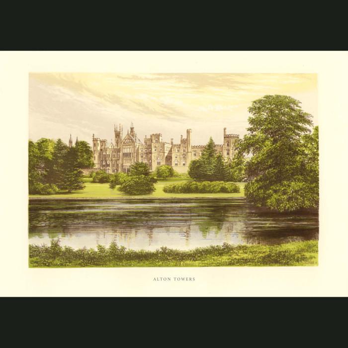 Fine art print for sale. Alton Towers