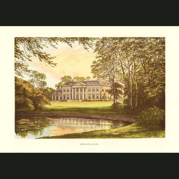 Fine art print for sale. Broadlands