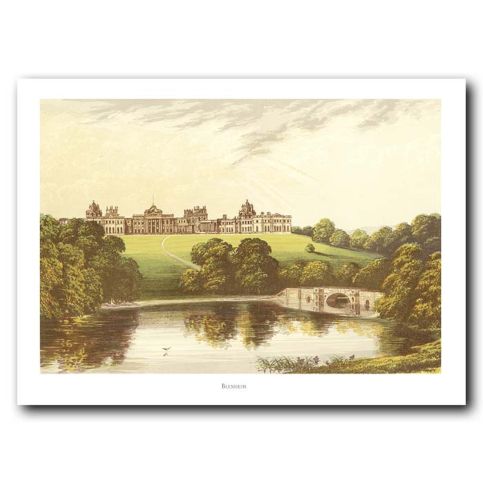 Fine art print for sale. Blenheim Palace