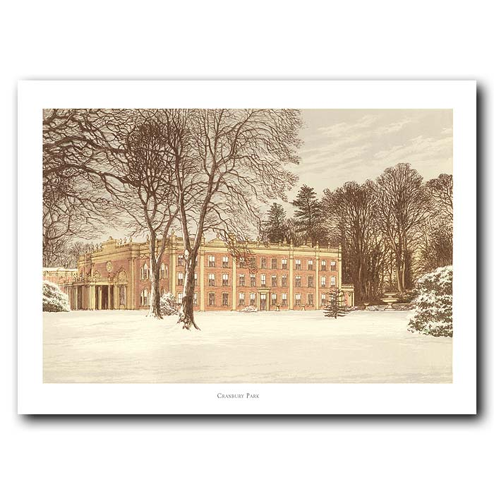 Fine art print for sale. Cranbury Park