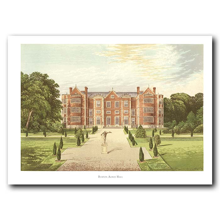 Fine art print for sale. Burton-Agnes Hall