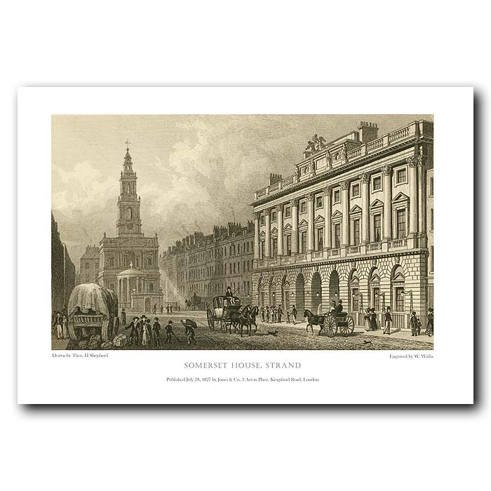Fine art print for sale. Somerset House