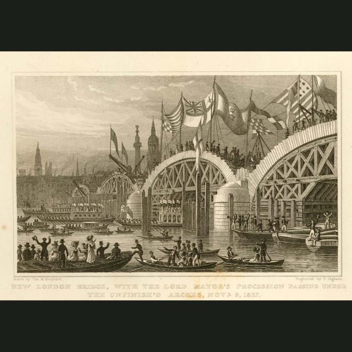 Fine art print for sale. New London Bridge